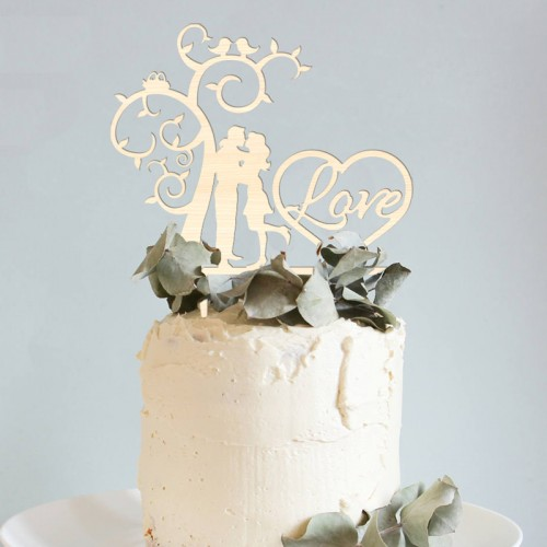 TOPPER na tort Tree of Love