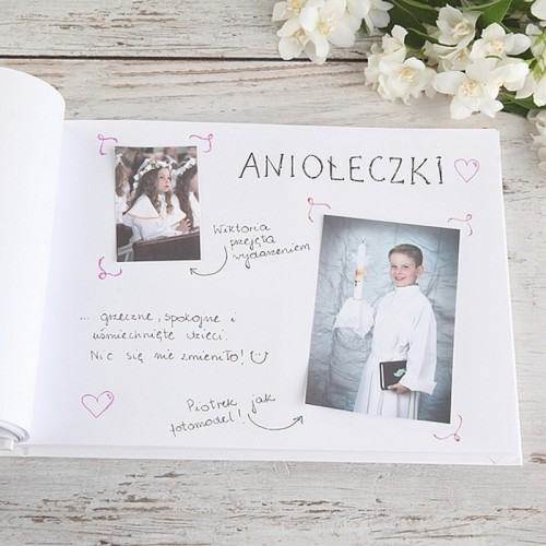 KSIĘGA Wspomnień dla Rodziców Kolekcja Rustykalna