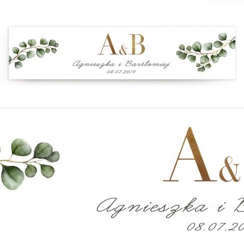 TABLICA rejestracyjna personalizowana Eukaliptus