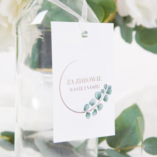 ZAWIESZKI na wódkę Eukaliptus 20szt