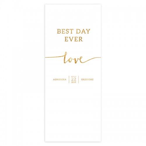 KAKEMONO personalizowane + listwa 60x150cm Kolekcja Love