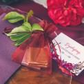 BILECIKI podziękowanie dla gości Kwiaty Boho 10szt