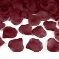 PŁATKI róż do sypania 500szt BORDOWE