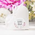 PUDEŁECZKA SERCA Liliowe Love 10szt (+etykiety+białe wstążki)