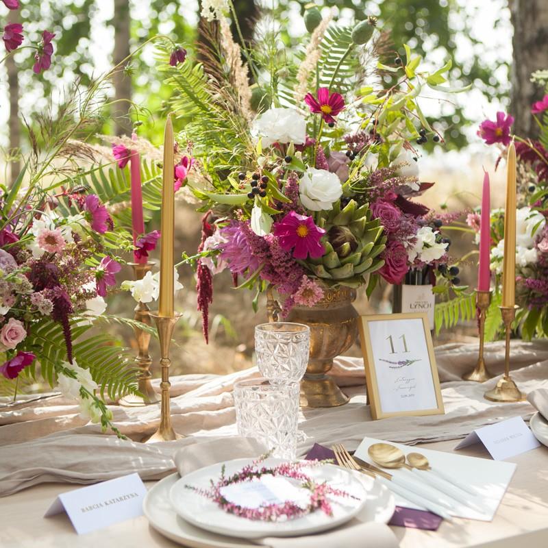 Pomysły Na Jesienny ślub Najpiękniejsze Dekoracje Na