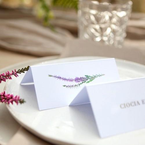 WINIETKA ślubna personalizowana Jesienne Wrzosy