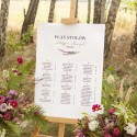 PLAN stołów personalizowany Jesienne Wrzosy