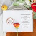 MENU weselne OTWIERANE Kolekcja Miedziana