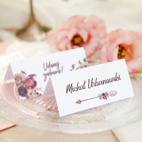 WINIETKA ślubna z nadrukiem DreamCatcher