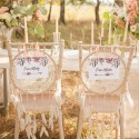 TABLICZKI na krzesła Pan i Pani Młoda DreamCatcher (+tasiemka)