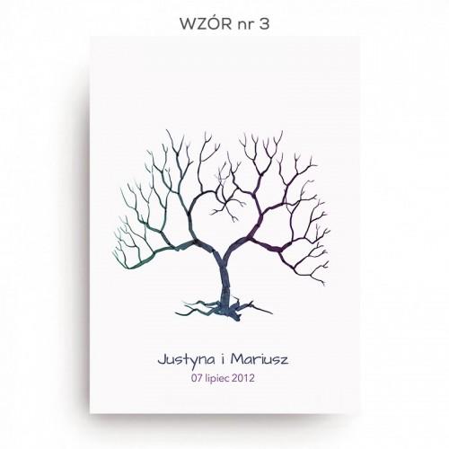 KSIĘGA GOŚCI personaliz. Rodzinne Drzewo 50cmx70cm