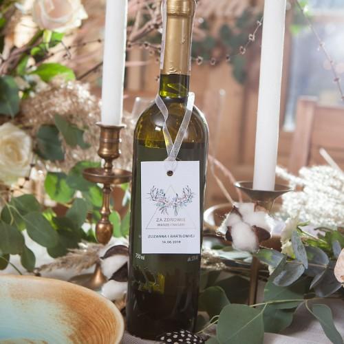 ZAWIESZKA na alkohol personalizowana Wild Nature