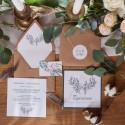 ZAPROSZENIE ślubne Wild Nature (+koperta z wnętrzem+naklejka)