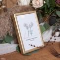 TABLICZKA na stolik z personalizacją Wild Nature
