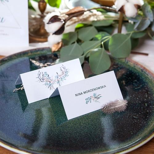 WINIETKA ślubna z nadrukiem Wild Nature