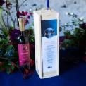SKRZYNIA na alkohol drewniana Z IMIONAMI To The Moon