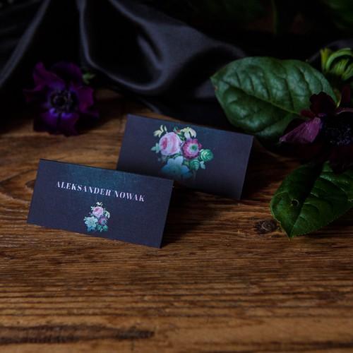 WIZYTÓWKA personalizowana Flora Dark