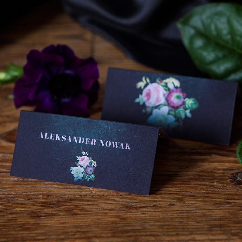 WINIETKA ślubna Flora Dark