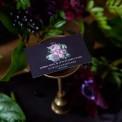 BILECIK personalizowany Flora Dark
