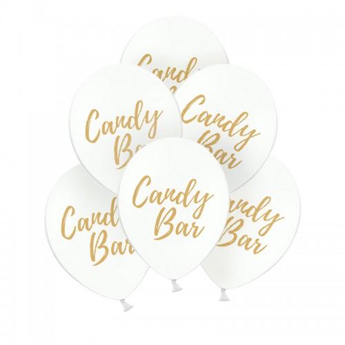 BALONY do słodkiego barku Candy Bar 10szt