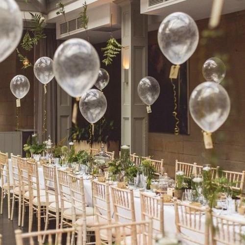 BALONY transparentne na ślub i wesele 27cm 20szt