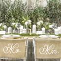 ZAWIESZKI na krzesła jutowe Mr&Mrs 2szt