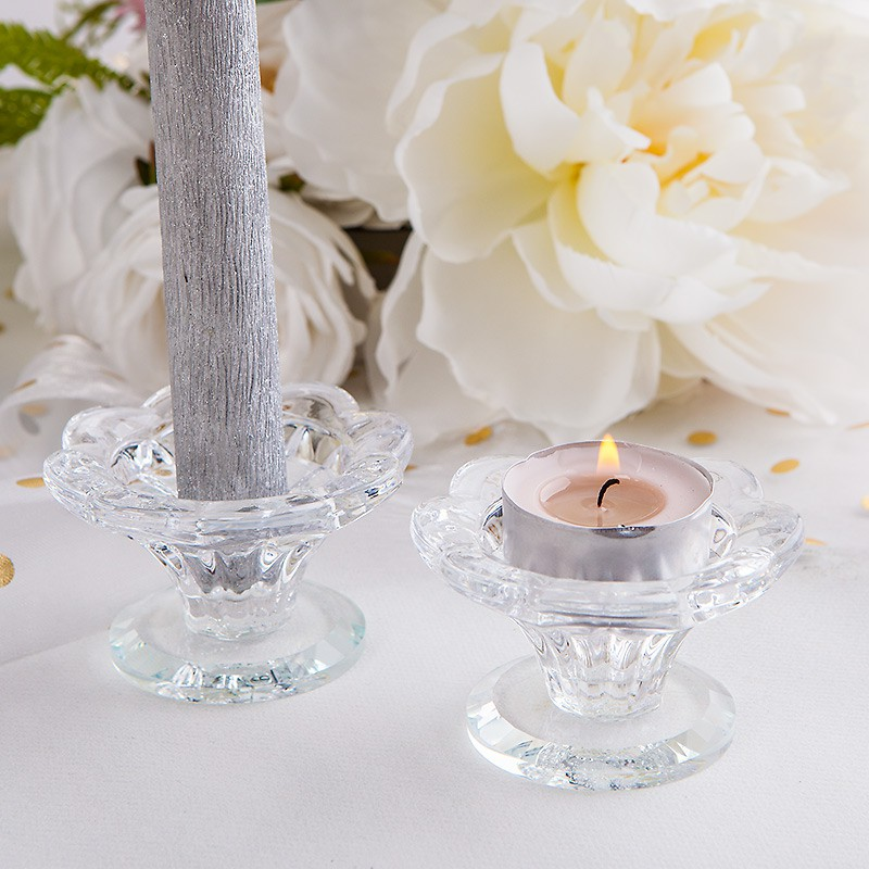 ŚWIECZNIK na tealight i prostą świecę 2w1 Ozdobny