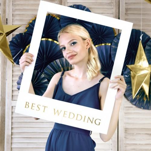 ZESTAW Selfie fotobudka z ramą ślub