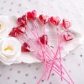 PIANKI Marshmallow w czekoladzie i lukrze 1KG TĘCZOWE