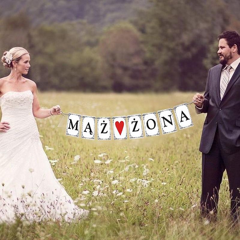 BANER dwustronny MĄŻ♥ŻONA i ♥miłość♥ MEGA HIT!!!