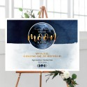 PLAKAT personalizowany 50x70cm To The Moon