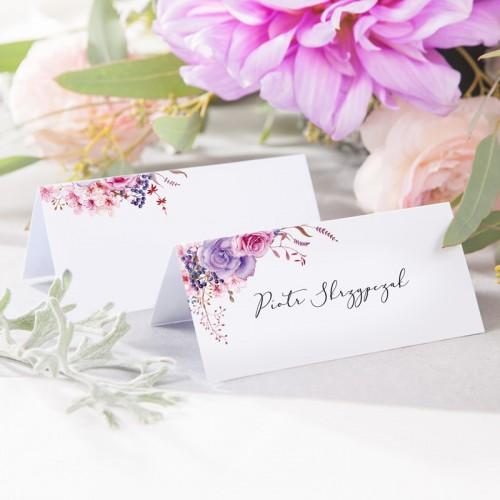 WINIETKA ślubna z nadrukiem Delicate Flowers