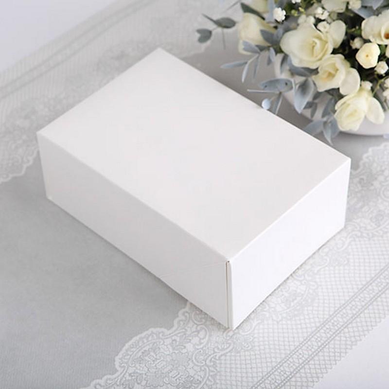 PUDEŁKA na ciasto do własnej aranżacji złożone Białe 10szt