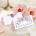 WINIETKA wizytówka z nadrukiem Pudrowe Kwiaty