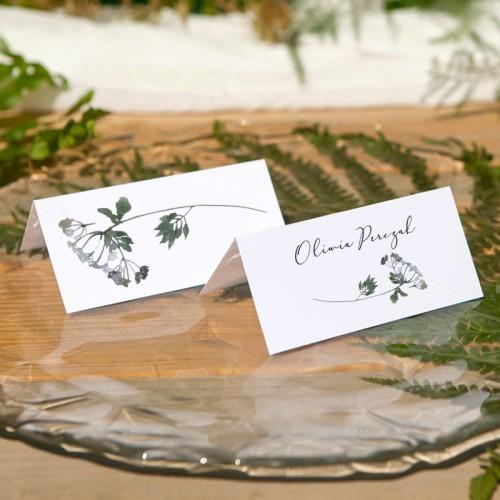 WINIETKA ślubna z nadrukiem Akwarelowa Roślinność II WERSJA