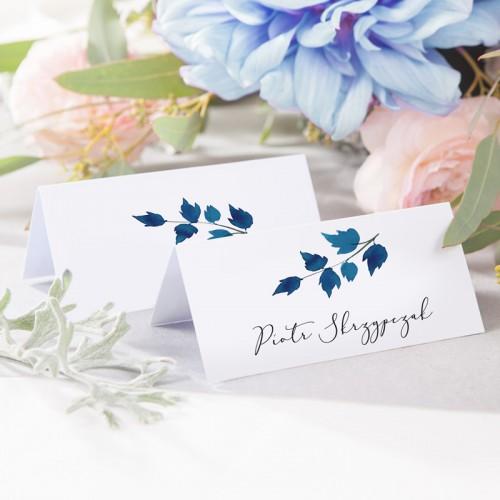WINIETKA ślubna z nadrukiem Blue One