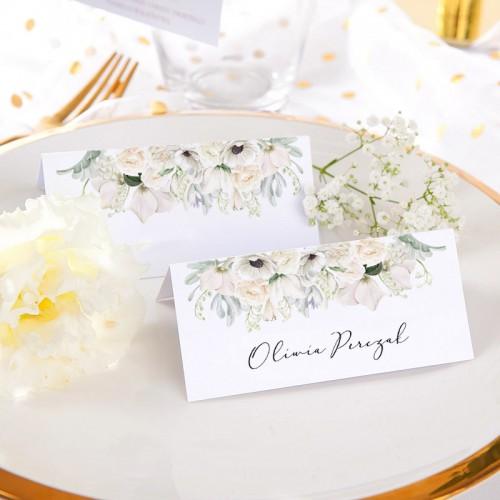 WINIETKA ślubna z nadrukiem Świeżość Kwiatów
