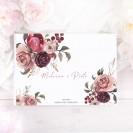 KSIĘGA GOŚCI weselnych z imionami Dusty Roses