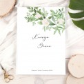KSIĘGA gości weselnych Z IMIONAMI Delikatne Kwiaty PION 200 stron