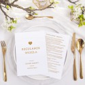 REGULAMIN wesela zabawny upominek dla gości 10szt