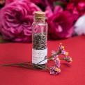 LAWENDA suszona w szklanej buteleczce Z IMIONAMI Marsala&Gold