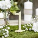 NUMERKI na stół drewniane KOMPLET 10szt