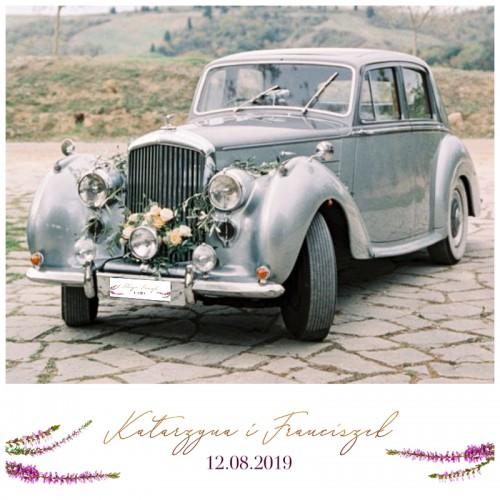 TABLICE rejestracyjne ślub Z NADRUKIEM Jesienne Wrzosy