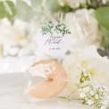 CIASTECZKO z wróżbą Delikatne Kwiaty (+etykieta z imieniem)