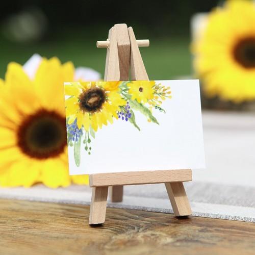BILECIKI podziękowanie dla gości Kolekcja Słoneczniki 20szt