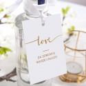 ZAWIESZKI na alkohol Kolekcja Love 10szt