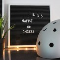 LETTERBOARD tablica z literkami Prezent dla Pary Młodej 30x30cm