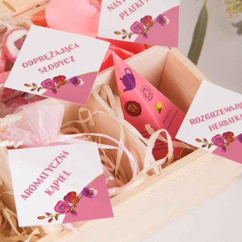 PREZENT dla Pary Młodej Poślubna Kuracja dla Żony Z IMIENIEM