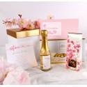 PODZIĘKOWANIE dla Rodziców w pudełku LUX Kwiat Wiśni NA DOBRY POCZĄTEK DNIA