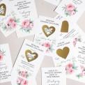 ZDRAPKI zadania dla gości weselnych 21szt SUPER ZABAWA